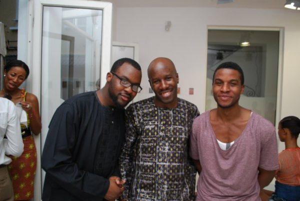 Photographer; Lakin Ogunbanwo, Grey designer; Obi Obi & Seye Ogunlesi