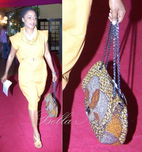 Folake Coker - MD/Designer, Tiffany Amber (Love the bag!)
