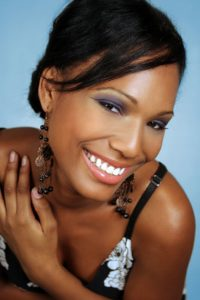 Black Woman Smiling 3