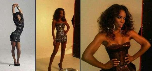 Kelly Rowland Cosmo SA Shoot