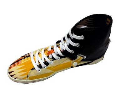 Nana Kente print High top