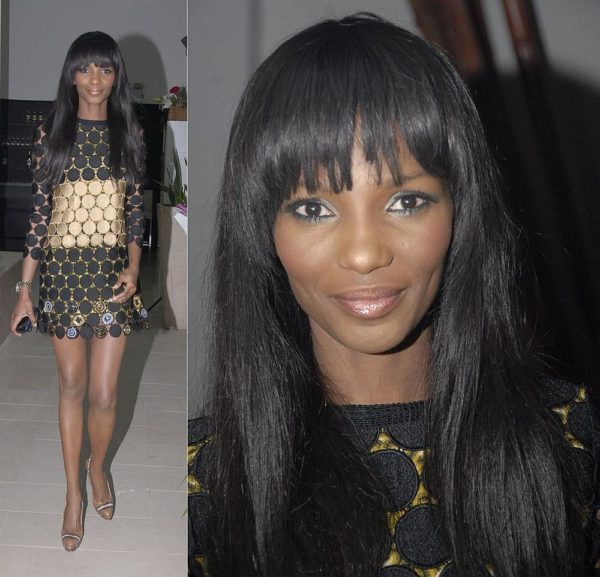 Presenter Agbani Darego at the Stylogenic Presentation NEW