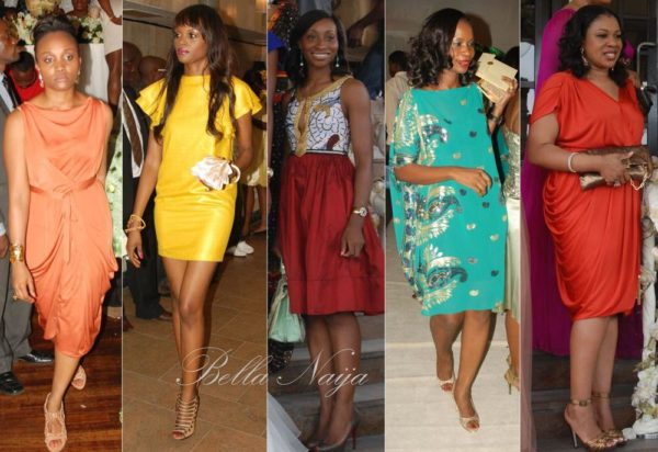 Wow! Love all the gorgeous colourful dresses