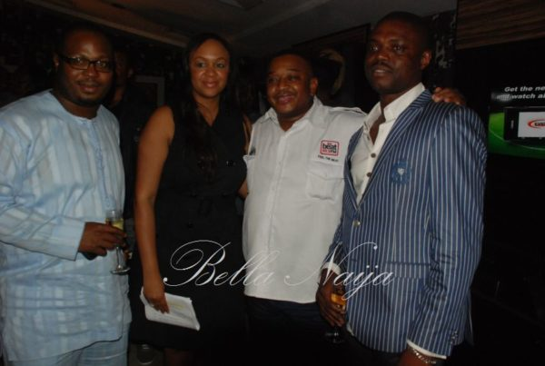 MNet's Colette Osibo with Olisa Adibua and guests