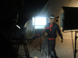 Mike Video Shoot