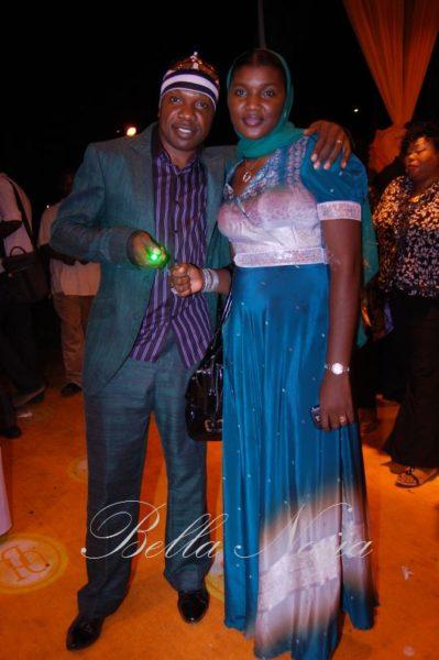 Zaaki with his pretty wife