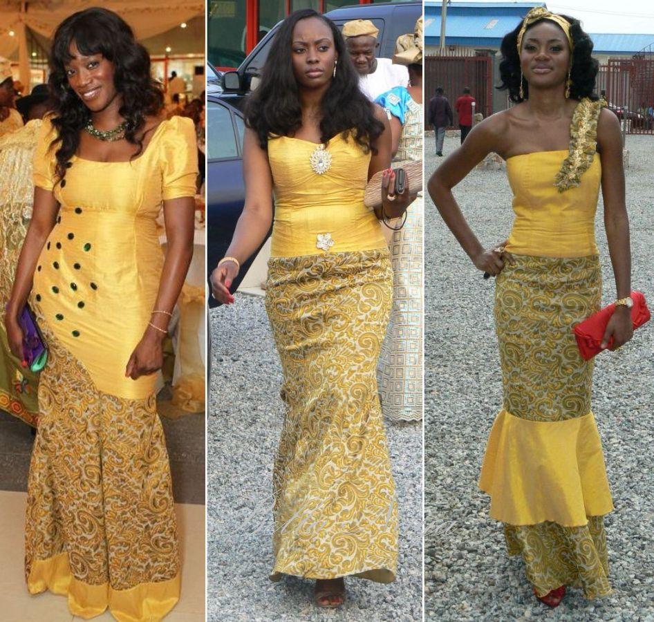 African Traditional Wedding Dresses BN Wedding Glam The Elohor