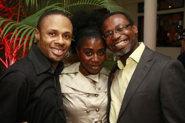 Damilola Elliot, TY Bello and Kelechi Amadi-Obi