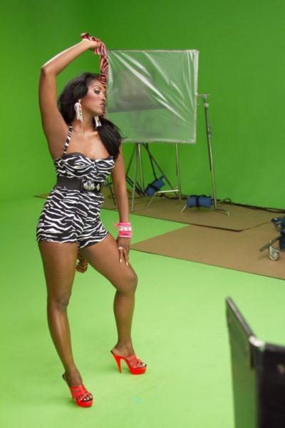 Tiwa Savage Kele Kele Video Shoot 2 Bella Naija005