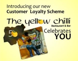 Yellow chilli banner Nigeria