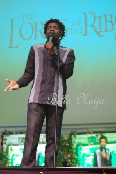 Basketmouth Lord of the Ribs Stage  Bella Naija001