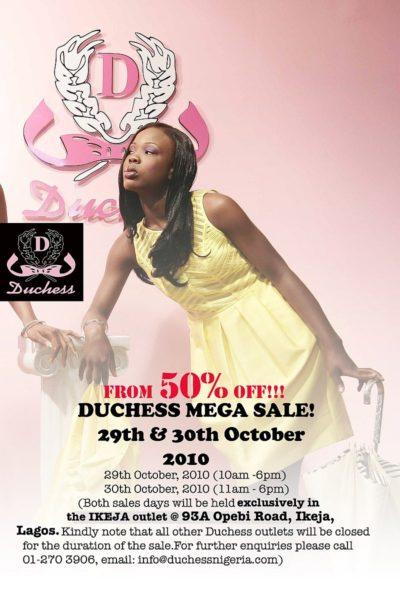 Duchess SALE