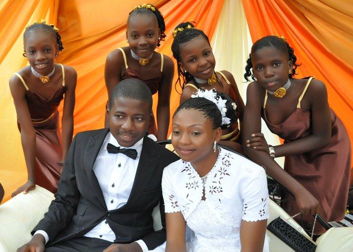 Jeremiah gyang wedding