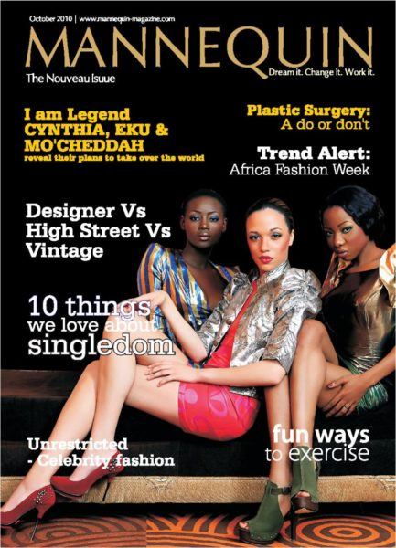 Mannequin debut issue cover