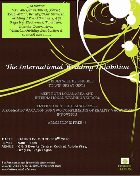 Wedding Exhibition Flyer
