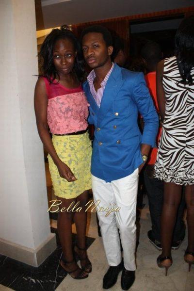 Rukky Ladoja with Adebayo Oke-Lawal
