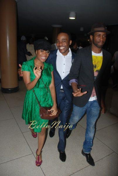 Amaka Osakwe with Dayo Isreal & Guest
