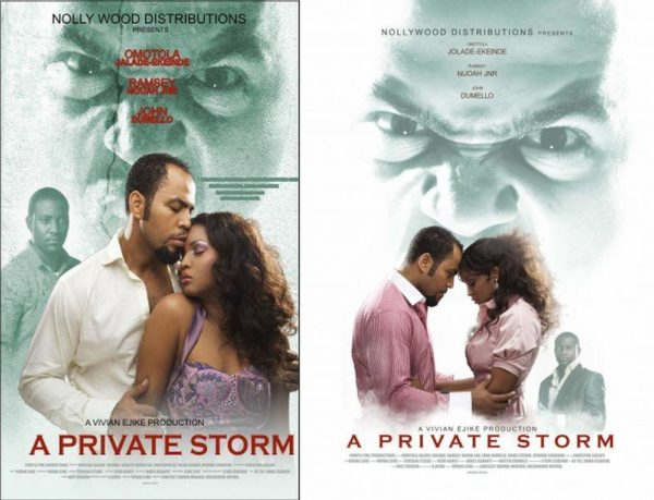 A Private Storm Nigerian movie - Ramsey Nouah Jr, Omotola Jalade Ekeinde, John Dumelo, Ngozi Ezeonu, Ufuoma Ejenobor - Watch A Private Storm Nigerian movie online, Omotola movies