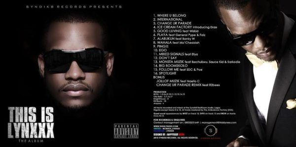 THIS IS LYNXXX OFFICIAL ALBUM COVER