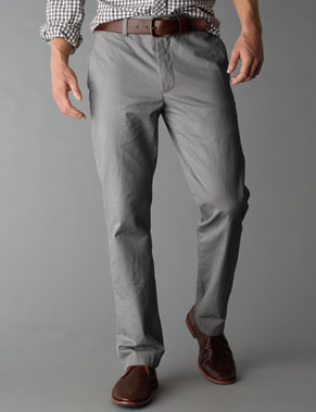 Gray Khakis Pants