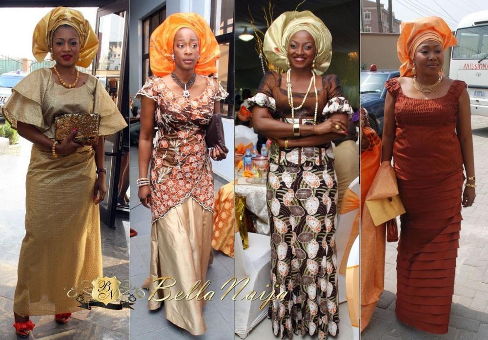 bn wedding glam the dakore egbuson amp olumide akande