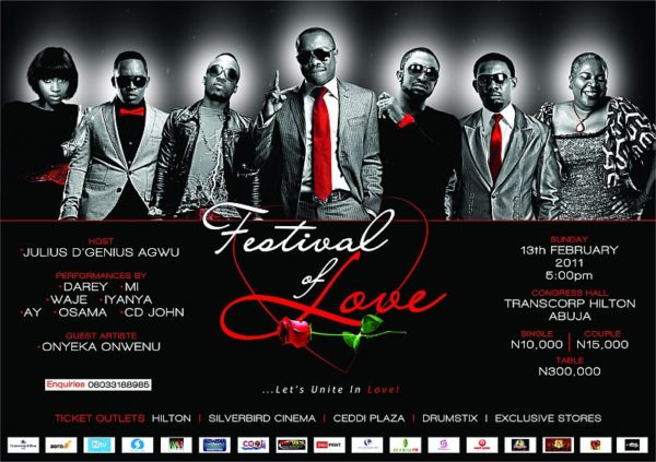 Festival of Love Julius Agwu Abuja