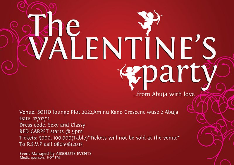 the - Valentine Events
