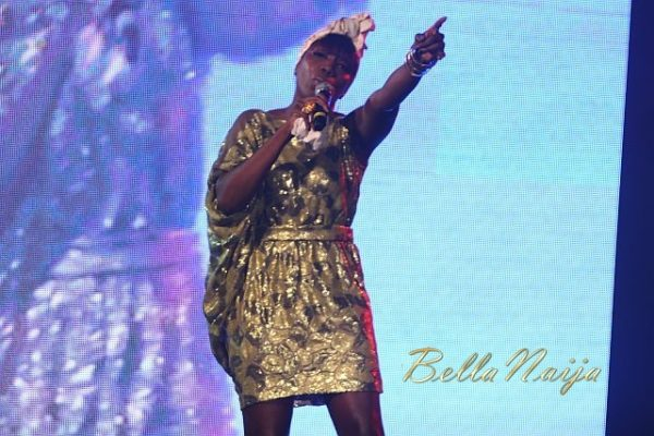 Estelle at AMFW 2011 - BellaNaija