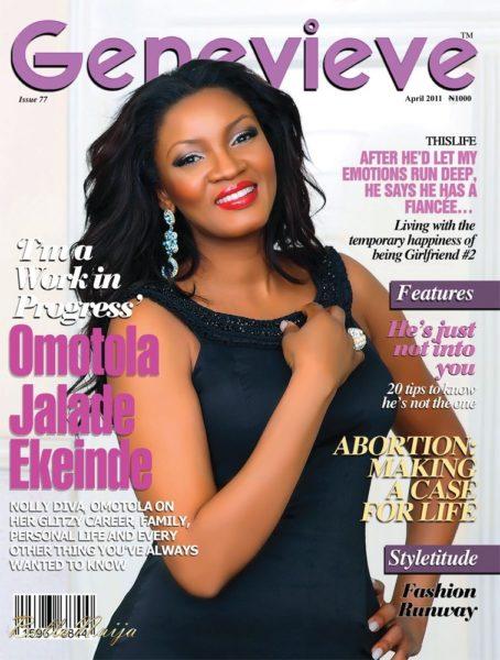 Omotola Jalade-Ekeinde Genevieve Magazine April 2011 - BellaNaija - April 2011 - 001