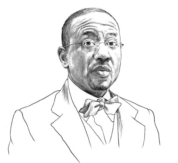 Sketch by Peter James Field for TIME