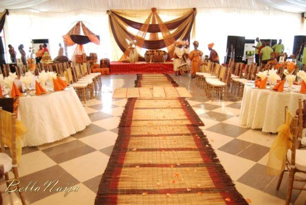 Bn wedding glam the timi awoyinka deji ogunnowo for Traditional wedding decor ideas