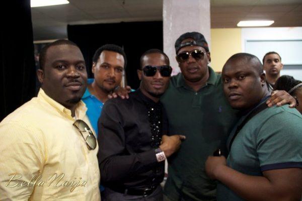 Master P with our Nigerian team! Go Naija