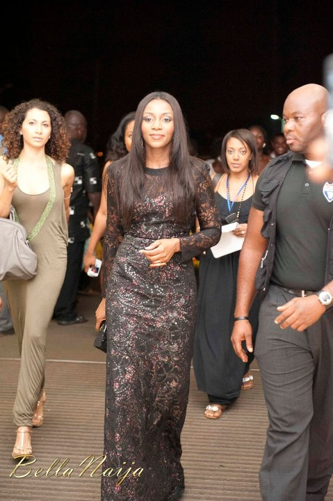 "Genevieve Nnaji arrives at the Accra premiere of ""Mirror Boy"""