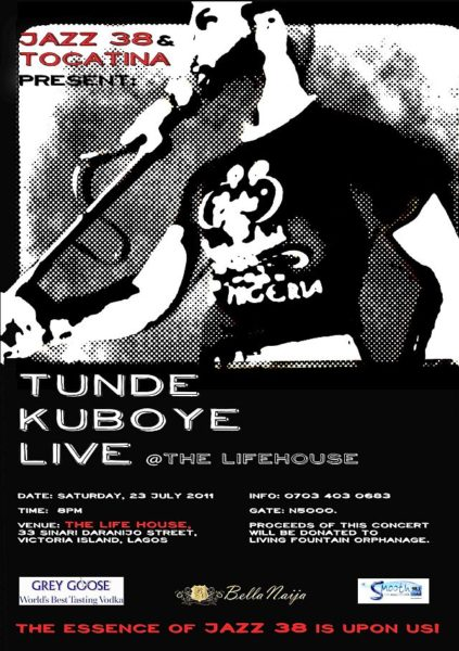 Tunde Kuboye Live at The Life House 230711