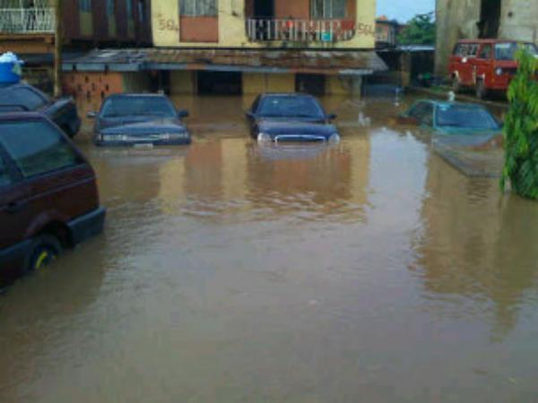 Image result for flood apartment in lekki