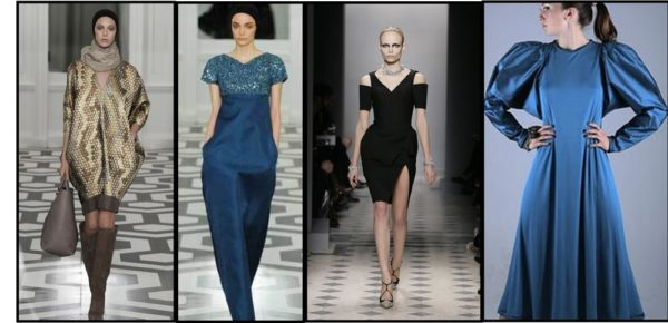 Cocoon fashion on the runway