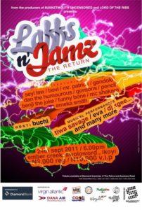 Laffs N Jamz Sept 2011