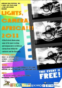 Lights, Camera, Africa!!! 2011 Film Festival-1