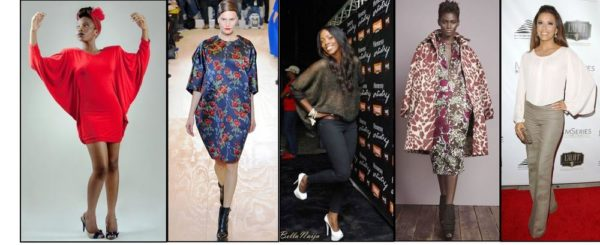 Cocoon fashion on runway and red carpet