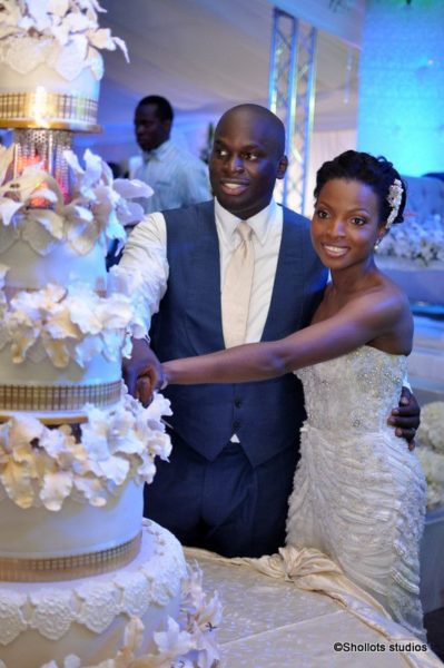 Bolarin Biobaku & Olushile Okunowo White Wedding - October 2011 - BellaNaija148