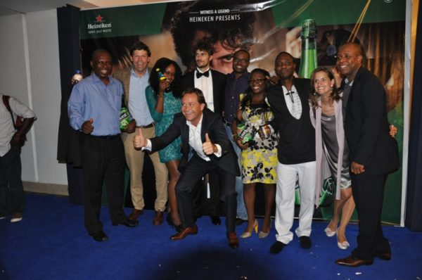Nigerian Breweries Team with Eric Mojoin, Heineken Man of the World