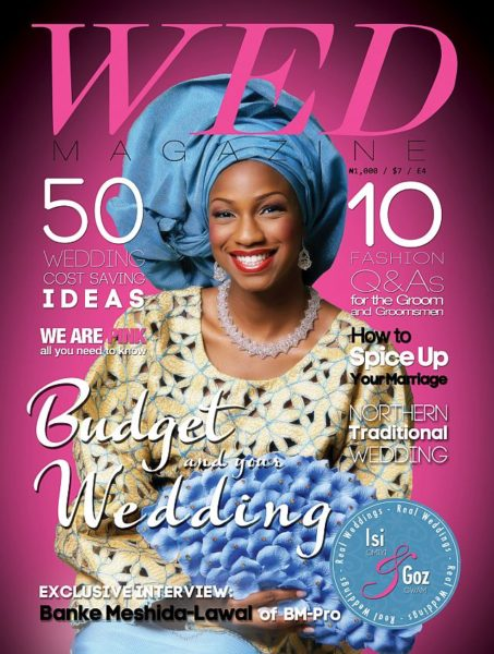 WED Magazine Pink Cover