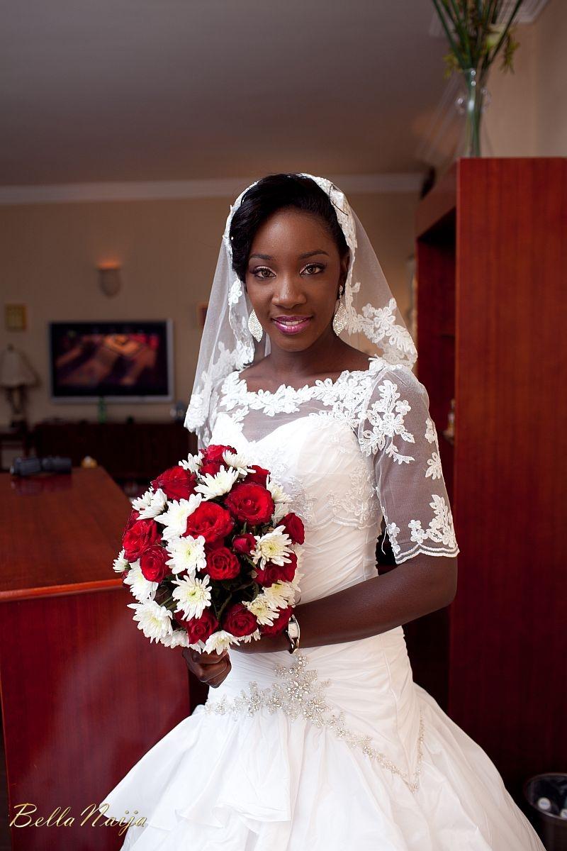 Adaora osakwe amp chinedu abanobi white wedding december 2011