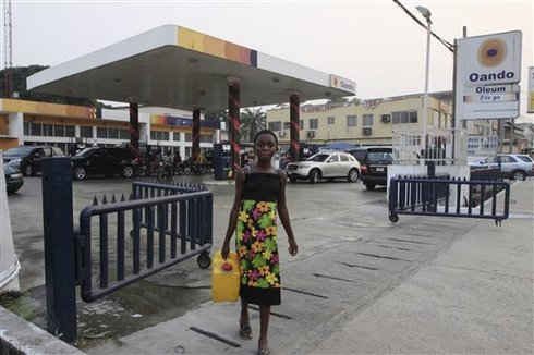 CORRECTION Nigeria-Fuel Subsidy