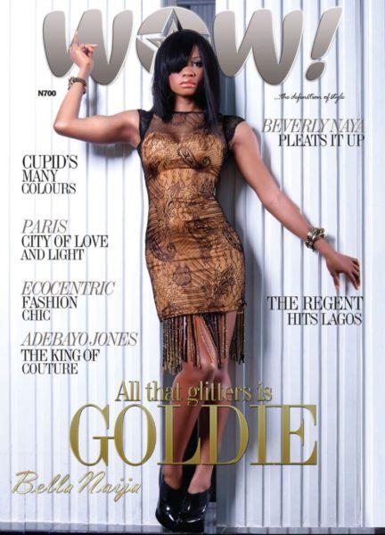 Goldie WOW Magazine - February 2012 - BellaNaija 001