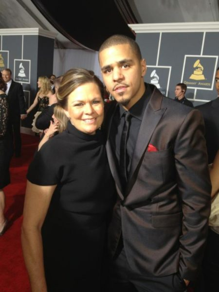J Cole And His Mother The 54th Annual...