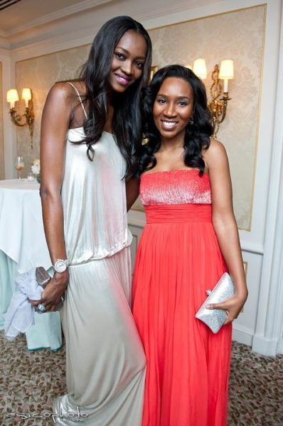 Oluchi with Eunice Omole (Remember her from the Apprentice Africa?)