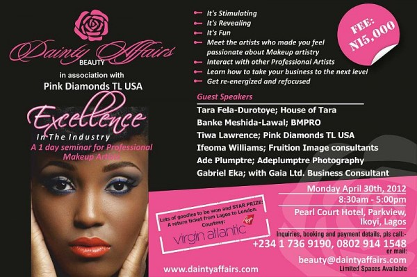 Makeup Artist Flyers - Makeup Vidalondon