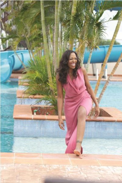 Biola Alabi in Bridget Awosika piece