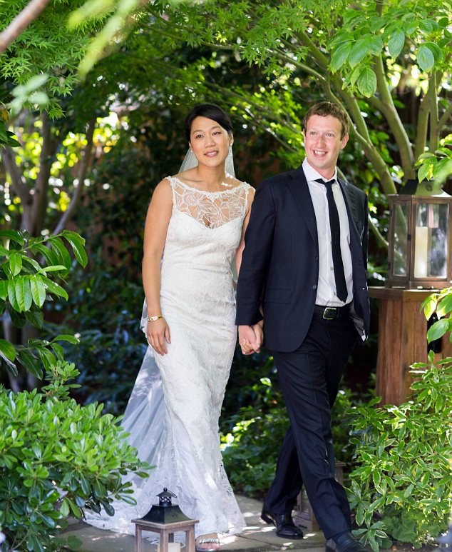 Facebook Founder, Mark Zuckerberg and his wife, Priscilla Chan features in TIME Magazine's most influential people